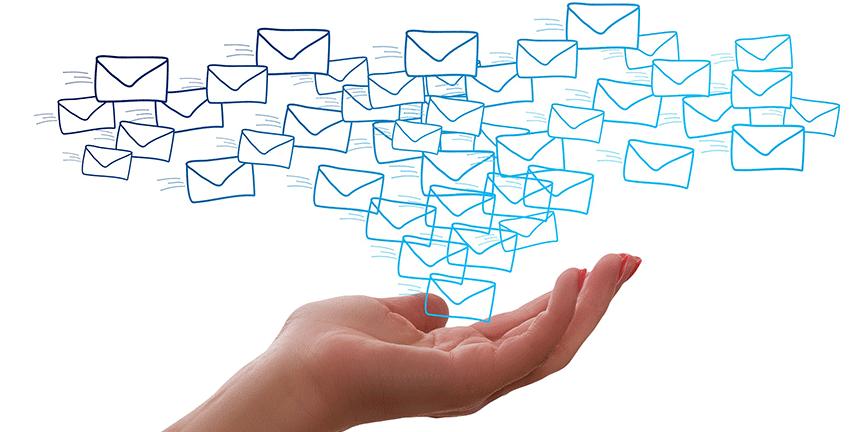 Stiller Posteingang und Suchordner