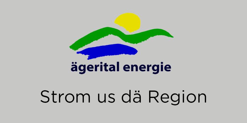 Meldung der Ägerital Energie Genossenschaft: «Wir begrüssen META10 und winVS software als Sonnenstrompartner»