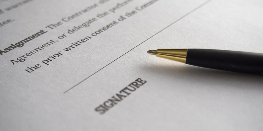 Bundesgericht sagt klar und deutlich: Mit einem eingescannten Dokument lässt sich die Echtheit einer Unterschrift nicht beweisen