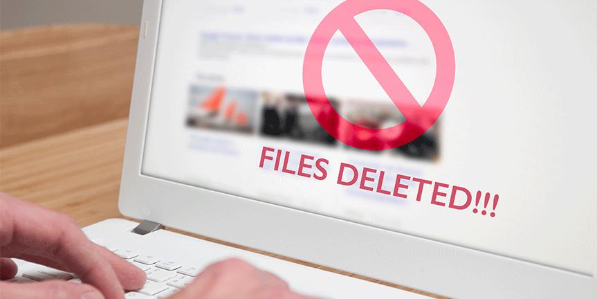 Wiederherstellung von gelöschten DSP Dateien